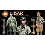 DAK SOLDIERS UNIFORM COLORS (3rd Generation)