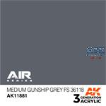 MEDIUM GUNSHIP GREY FS 36118 - AIR (3. Generation)
