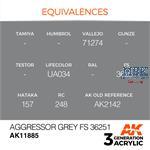 AGGRESSOR GREY FS 36251 - AIR (3. Generation)