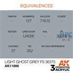 LIGHT GHOST GREY FS 36375 - AIR (3. Generation)