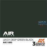 IJN D1 DEEP GREEN BLACK - AIR (3. Generation)