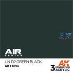 IJN D2 GREEN BLACK - AIR (3. Generation)