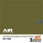 IJN M3 (M) MITSUBISHI INTERIOR GREEN-AIR (3. Gen.)