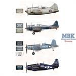 WW2 US NAVY AND USMC AIRCRAFT COLORS