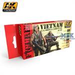 Vietnam U.S. Green and Camouflage