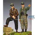 WSS Officer 44-45 Set - 2 figst 1/35
