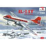 Ilyushin Il-14T Polar Aviation on skis  1:144