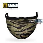 Tiger Camo AMMO Face Mask