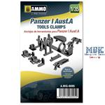 Panzer I Ausf.A Tools Clamps  1:35