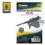 Modern M2 Browning .50 call 1:35