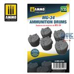 MG-34 Ammunition Drums 1:35