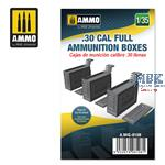 .30 cal Full Ammunition Boxes 1:35