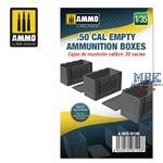 .50 cal Empty Ammunition Boxes 1:35