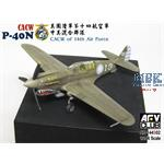 CACW P-40N of the 14th Air Force 1:144