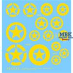M2/M3 Halftrack gelbe Sterne