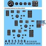 Ford GPA Jeep Instrumente und Typschilder