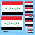Irakische Flaggen