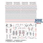 Tattos/Tätowierungen #4 - Bänder Nasschiebebilder