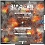 Flames Of War: Artillery Template