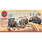 Vintage Classics: 25pdr Field Gun & Quad