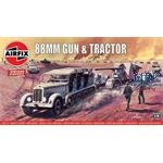Vintage Classic: German 88mm and Tractor Set