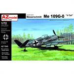 Messerschmitt Bf-109G-0 V-tail Prototype