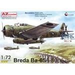 """Breda Ba.65A-80 """"Over Spain"""""""