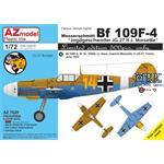 Messerschmitt Bf-109F-4 'JG 27 H.J. Marseille'