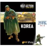 Bolt Action Korean War: Korea Book + Figure
