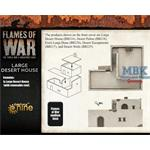 Flames Of War: Large Desert House