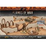 Flames Of War: Ruined Desert Walls