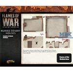 Flames Of War: Ruined Desert Houses