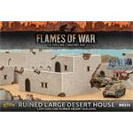 Flames Of War: Ruined Large Desert House