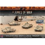 Flames Of War: Valentine Armoured Troop