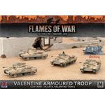 Flames Of War: Valentine Armoured Troop