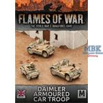 Flames Of War: Daimler Armoured Car Troop