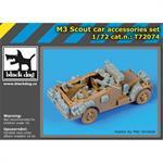 M 3 Scout car accessories set