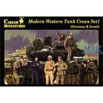 Modern Western Tank Crews Set 1 (Germany & Israel)
