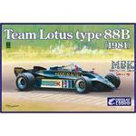 Team Lotus 88B 1981 1:20