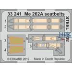 Messerschmitt Me-262A-1 seatbelts STEEL 1/32