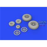 Curtiss P-40N Kittyhawk wheels 1/32