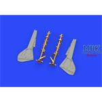 Fw 190A-8/R2 undercarriage legs BRONZE 1/48