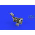 Fw 190A-8/R2 engine & fuselage guns  1/48