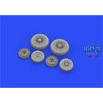 F-104G Starfighter wheels late 1/48