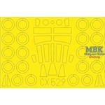 Victor K.2 1/72 Masking Tape