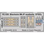 Blenheim Mk.IF seatbelts STEEL 1/48