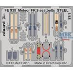 Meteor FR.9 seatbelts STEEL 1/48