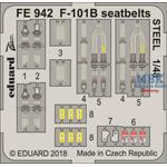 McDonnell F-101B Voodoo seatbelts STEEL 1/48