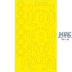 MIG-19 TFACE 1/48  Masking tape