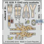 F-104G Starfighter early seatbelts STEEL 1/48